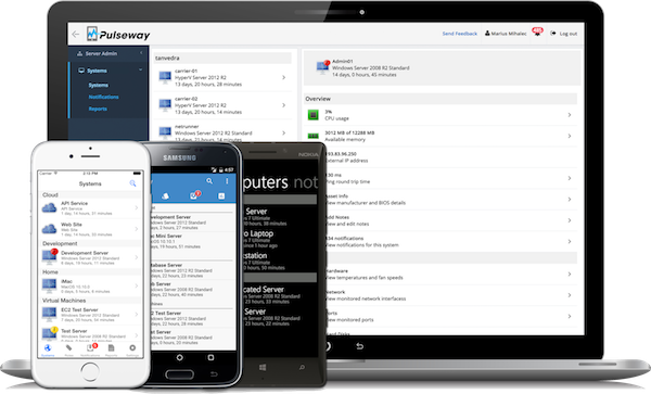 Monitor and Manage your IT systems from any smartphone