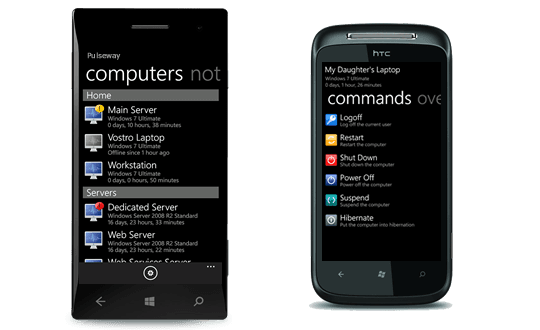Monitor and manage your IT systems from a Windows Phone