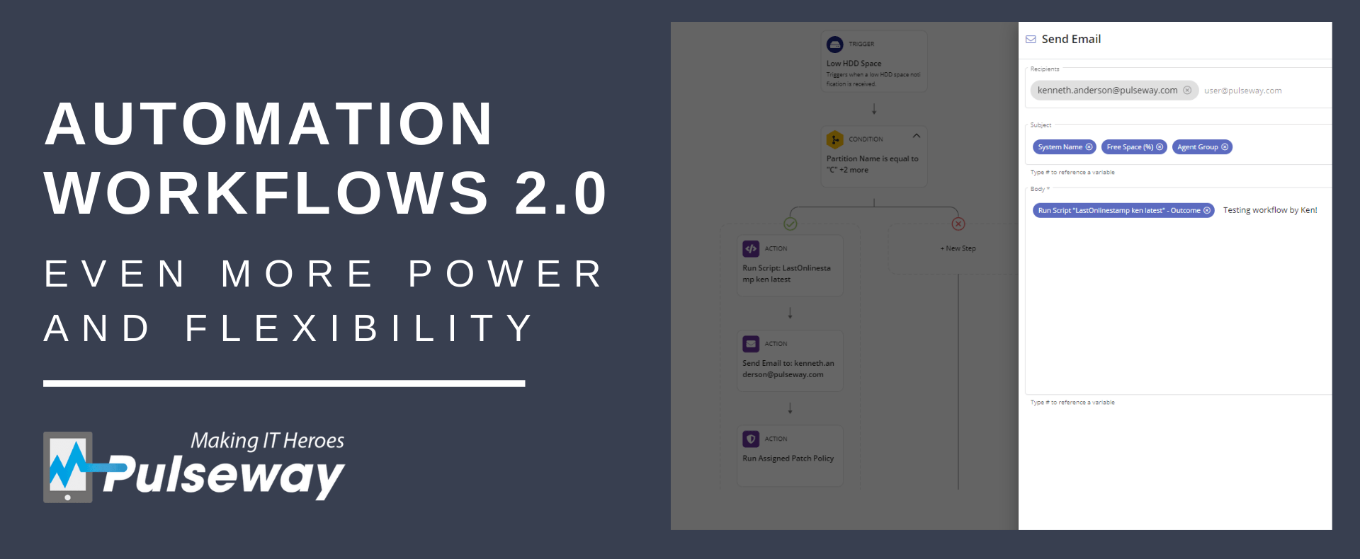 Pulseway Launches Automation Workflows 2.0 for even More Seamless User Experience