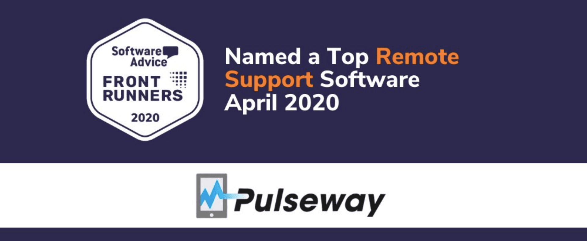 Pulseway ranked No.1 remote support software of 2020
