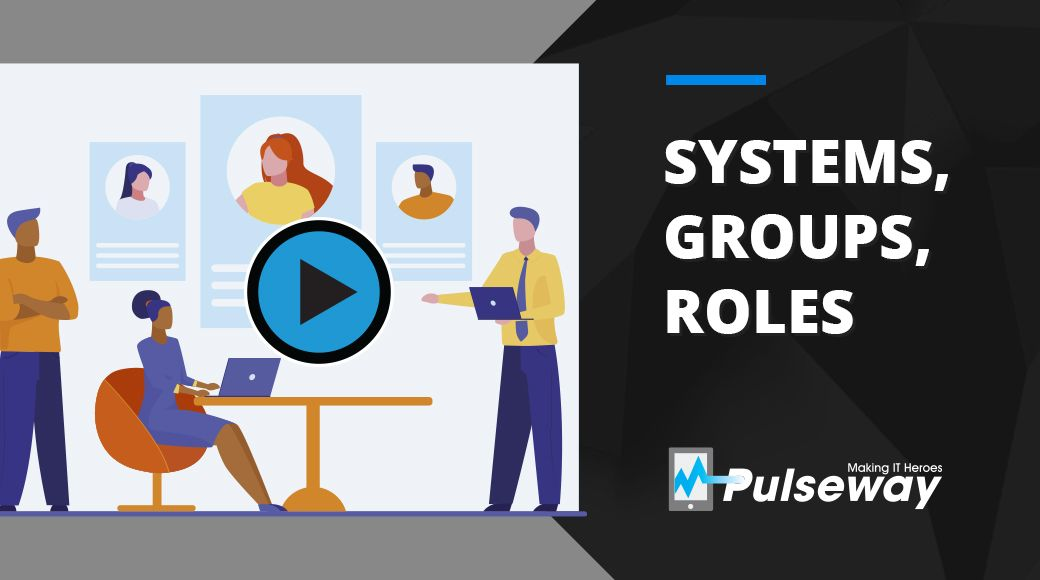 Systems, Groups, Roles