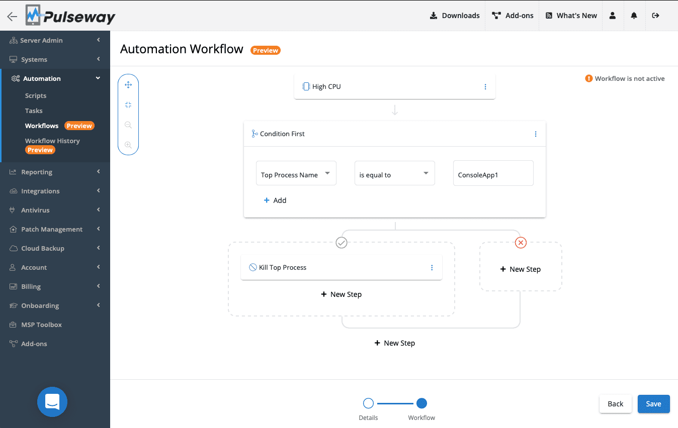 Brand New Automation Workflow Preview 1